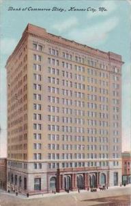 Missouri Kansas City Bank Of Commerce Bldg 1909