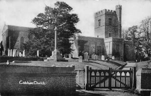 England Cobham Church, Kirche, Kent