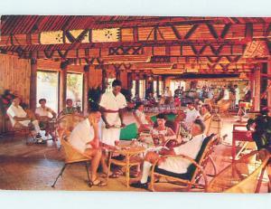 Pre-1980 BEACH HOTEL RESTAURANT Country Of Fiji Fiji G8752