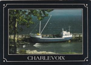 St. Andre Fishing Ship, CHARLEVOIX, Quebec, Canada, 50-70´s
