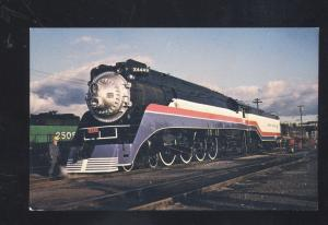 SOUTHERN PACIFIC RAILROAD AMERICAN FREEDOM TRAIN LOCOMOTIVE