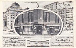 C. Dexter &Co. Waterbury, Conn.  Huyler's Products  1909