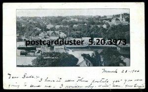 3973 - BEAR RIVER NS Postcard 1906 Panoramic View