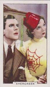Gallaher Cigarette Card Shots From Famous Films No. 21 Evergreen