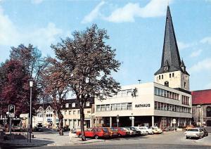 Schoeppenstedt Markt Rathaus Town Hall Auto Cars