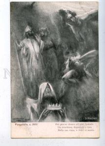 202450 DANTE Purgatory by ALACCHIATI Art Nouvea ALTEROCCA 4651