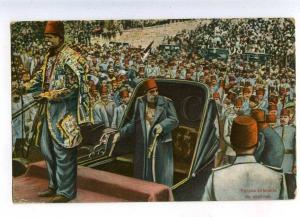 203033 TURKEY CONSTANTINOPLE Parade solennelle de vendredi OLD