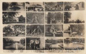 RP: MINOT , North Dakota , 1938 ; Roosevelt Park , Animals & Views