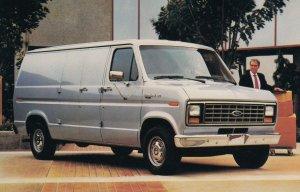 1986 FORD Econline Van