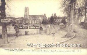 Apres le Bombardement Chateau-Thierry, France, Carte, Unused