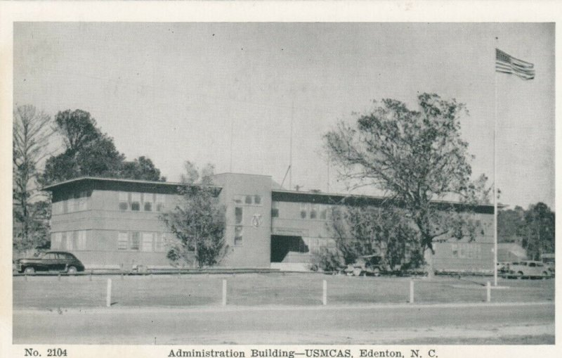 EDENTON , North Carolina, 1930s ; USMCAS , Admin Building