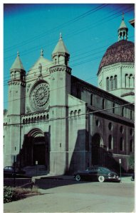 Postcard - St. Joseph's Cathedral, Wheeling, West Virginia