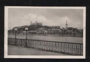 071690 SLOVAKIA Bratislava Dunaj s nabrezim Old PC