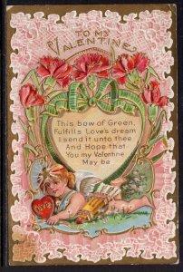 Valetine Cupid Flowers BIN
