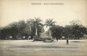 mauritius, Place Labourdonnais (1899) Messageries Maritimes
