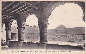 VERENGEVILLE, Seine Maritime, France, 1900-1910's; Manoir Ango, Vue Prise De ...