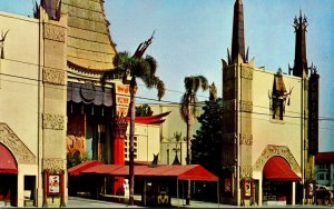 California Hollywood Grauman's Chinese Theatre 1957