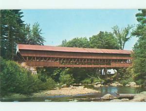 Unused Pre-1980 COVERED BRIDGE Conway New Hampshire NH t7499
