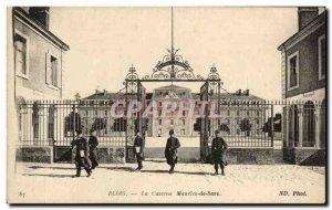 Old Postcard Blois The Mauritius Army barracks Saze