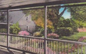 Virginia Fredericksburg Garden At The Home Of Mary The Mother Of Washington A...