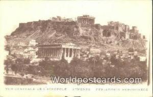Greece De L'Acropole Athens De L'Acropole