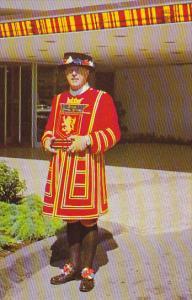 Canada Yeoman Of The Guard Beefeater Bayshore Inn Doorman Vancouver British C...