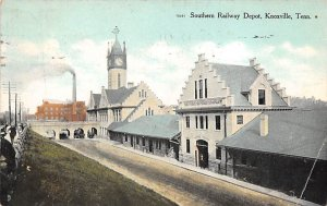 Southern Railway Depot Knoxville, Tenn., USA Tennessee Train 1907