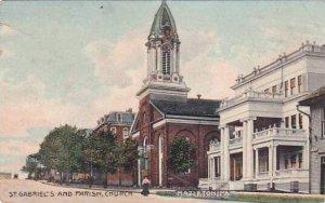 Pennsylvania Hazleton Saint Gabriels And Parish Church