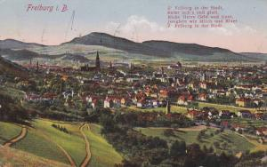 Panorama, Freiburg i. B. (Baden-Wurttemberg), Germany, PU-1928