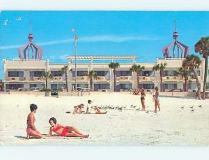 Pre-1980 BEACH TOWERS APARTMENT MOTEL Clearwater Florida FL M4621
