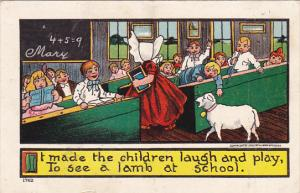 Sunbonnet Girls Little Bo Peep With Her Sheep In School 1908