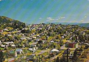 Canada British Columbia Rossland Panoramic View