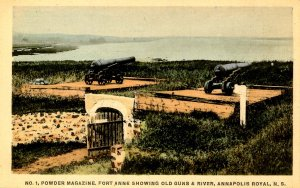Canada - Nova Scotia, Annapolis Royal. Powder Magazine, Fort Anne