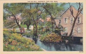 The Old Mill Sandwich Cape Cod Massachusetts