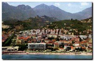 Modern Postcard The Wonderful Sites De La Cote D & # 39Azur Menton General Ci...