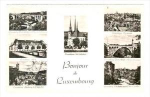 RP, Multi-Views, Bonjour De Luxembourg, 1920-1940s
