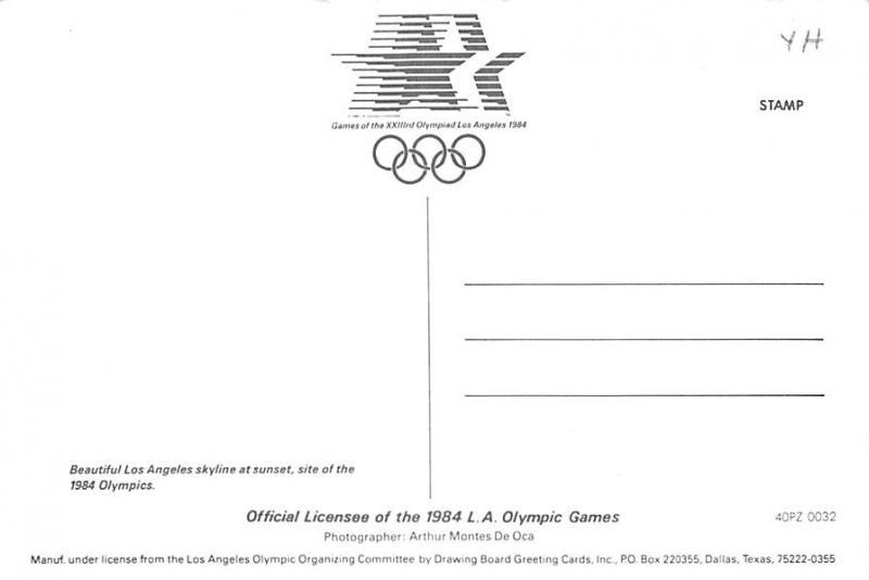 Olympiad Los Angeles - California