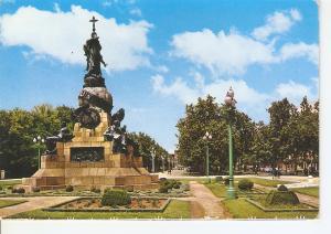 Postal 046329 : Valladolid. Paseo de Campo Grande. Monumento a Colon
