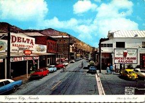 Nevada Virginia City Main Street