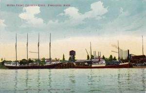 Water Front, Columbia River, Vancouver, Washington, 1900-1910s