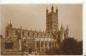 Gloucestershire Postcard - Cathedral From South West - Ref TZ10406