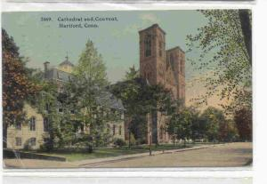 Cathedral and Convent, Hartford, Connecticut,PU-1912