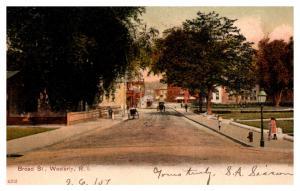 Rhode Island Westerly , Broad street