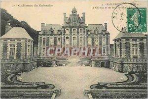 Old Postcard Chateaux Calvados Balleroy Le Chateau and den Pavilion