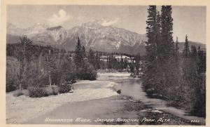 Athabasca River, Jasper National Park, Alberta, Canada, 10-20s