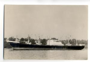 cb0828 - Dutch Cargo Ship - Ittersum , built 1960 - postcard