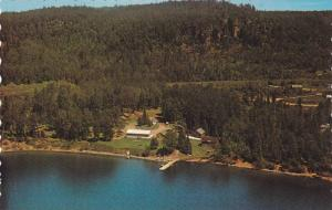 Air view, Sunset Lodge, Ontario, Canada,   40-60s