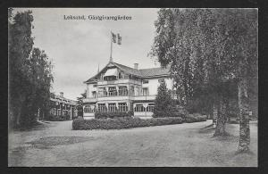 The Inn @ Leksand Sweden unused c1920's