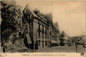 CPA ETRETAT-L'Hotel des Roches-Blanches et la Terrasse (347727)