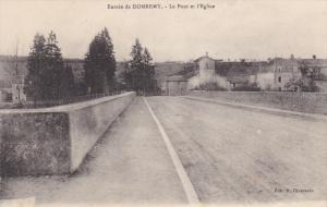 Le Pont Et l'Eglise, Entree De DOMREMY (Vosges), France, 1900-1910s